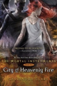 City of Heavenly Fire, by Cassandra Clare (Margaret K. McElderry Books)