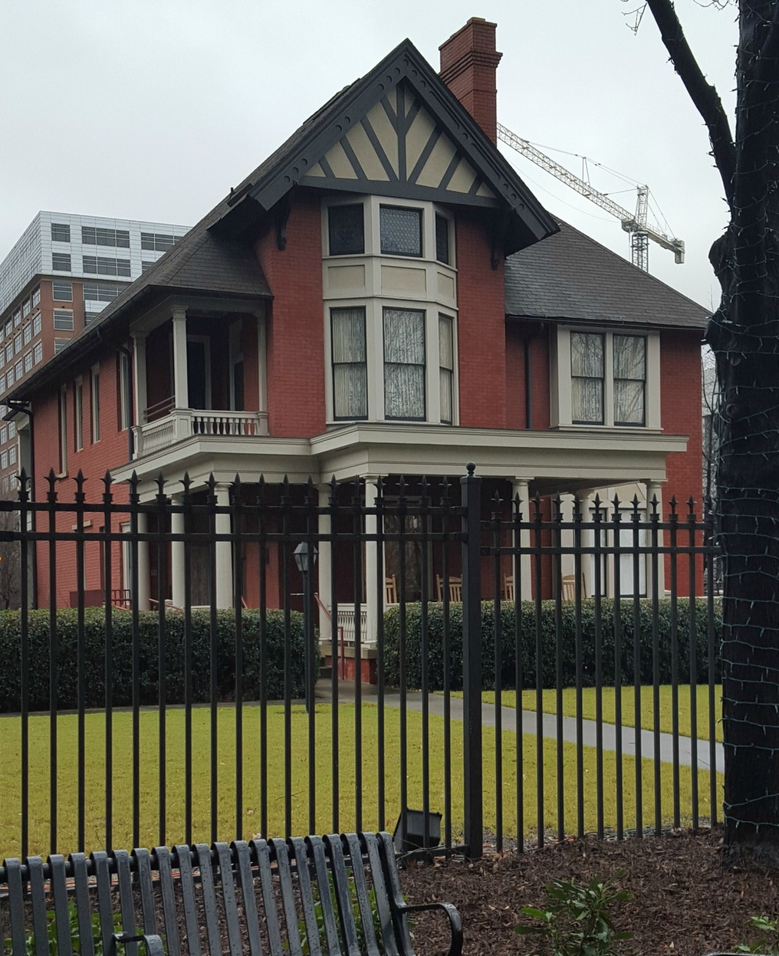 The Margaret Mitchell House, where the tiny apartment the author and her husband lived in was located.