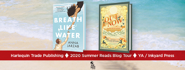 Breath Like Water Blog Tour Banner