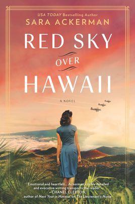 red sky over hawaii
