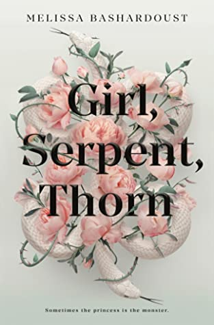 girl, serpent, thorn